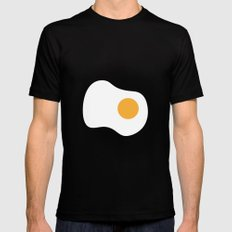 #2 Egg Mens Fitted Tee Black MEDIUM