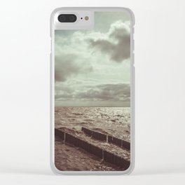 Rio de la plata Clear iPhone Case