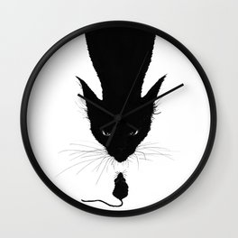 Eternal drama Wall Clock