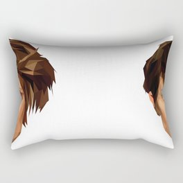 TEGAN AND SARA Rectangular Pillow