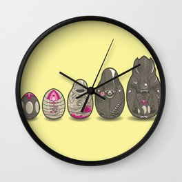 Xenomatryoshka Wall Clock