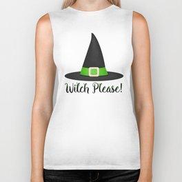 Witch Please! Biker Tank