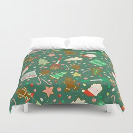 Baking Up Warm Wishes Duvet Cover