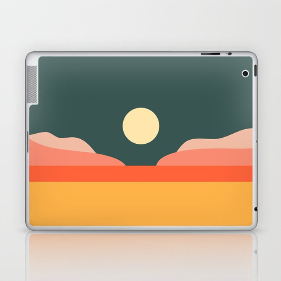Geometric Landscape 14 Laptop & iPad Skin