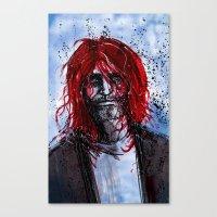 kurt rahn Canvas Prints featuring Kurt by Stewart Cook