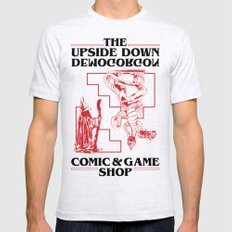 The Upside Down Demogorgon - Stranger Things Have Happened Mens Fitted Tee Ash Grey LARGE