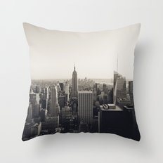 another Empire State Building shot Throw Pillow