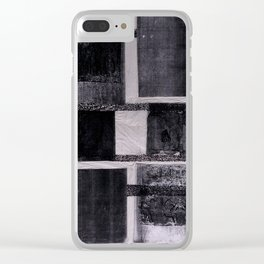Charcoal Clear iPhone Case