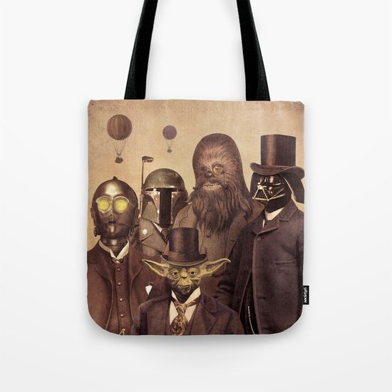 Victorian Wars  - square format Tote Bag