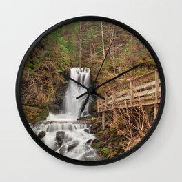 Dickson Boardwalk Falls Wall Clock