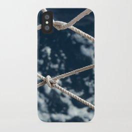 Nautical rope iPhone Case