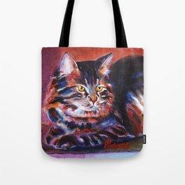Terra Cotta Tabby Tote Bag