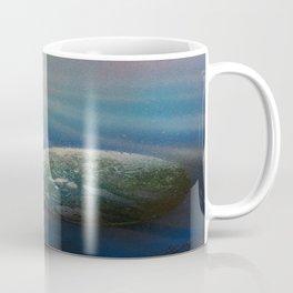Sun Cross Earth Space Spray Paint Coffee Mug