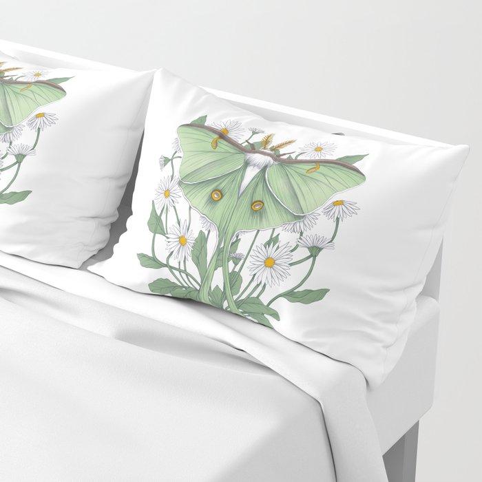 Metamorphosis - Luna Moth Pillow Sham
