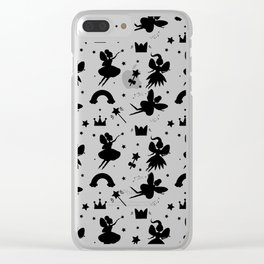 Wizard and Witch Pattern | Magic Sorcery Conjuring Clear iPhone Case