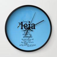 leia Wall Clocks featuring Leia by KimberosePhotography