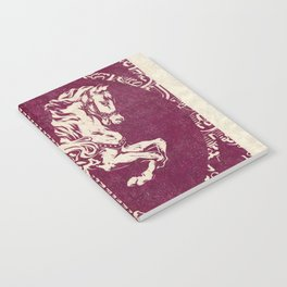 Vintage Carousel Horse - Mulberry Notebook