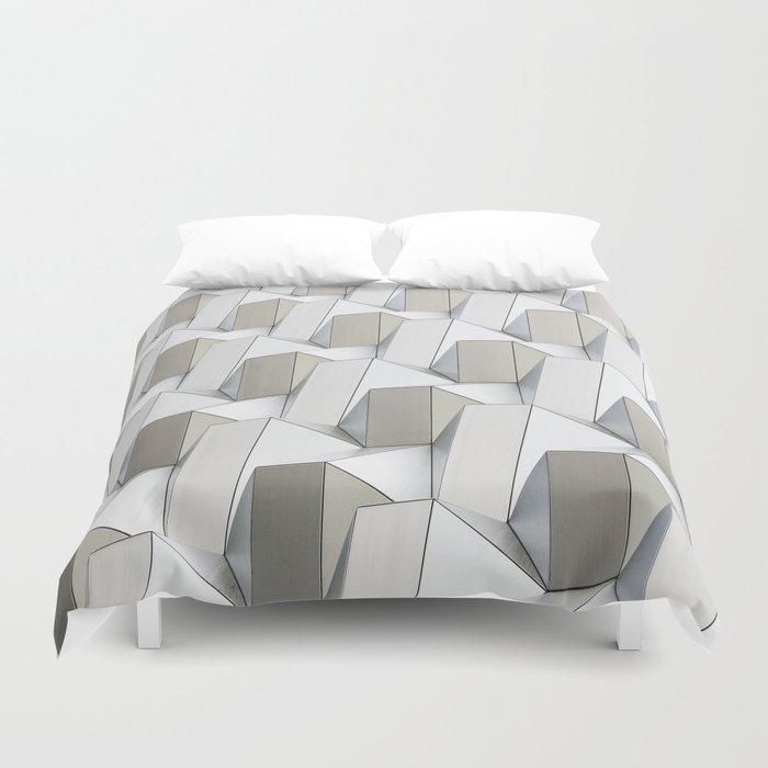 Pattern cubism Duvet Cover