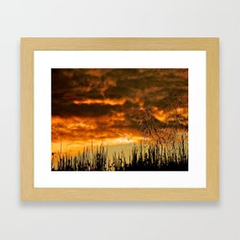 Goodbye Daylight Framed Art Print