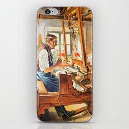 Weavers iPhone Skin