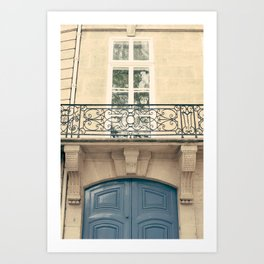 Paris, oh this beauty Art Print
