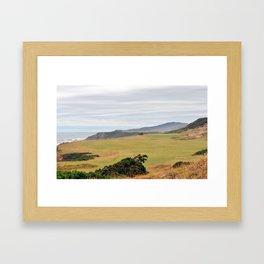 Pacific Dunes Framed Art Print