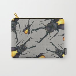 Amber Beetle Carry-All Pouch