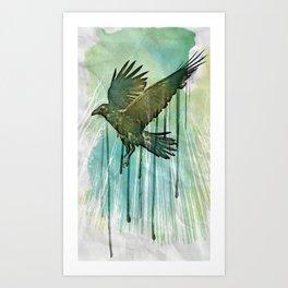 Raven Sky Art Print