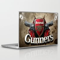 arsenal Laptop & iPad Skins featuring ARSENAL by Acus