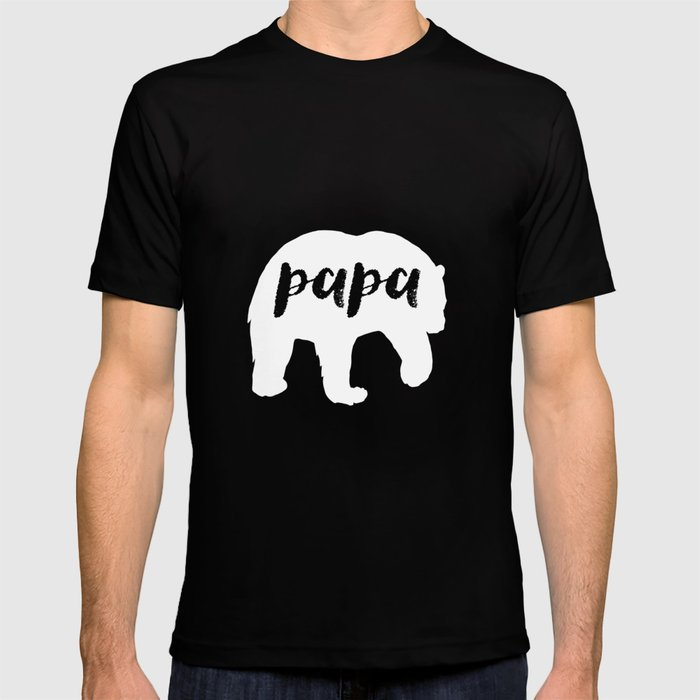 9be6c1871 Papa Bear - Funny Dad To Be Father's Day Hubby T-shirt by teepsy ...