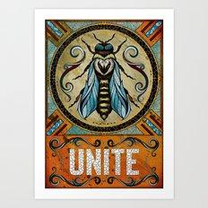 Unite Art Print