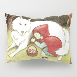 lost red riding hood Pillow Sham