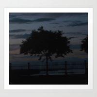 In the night Art Print