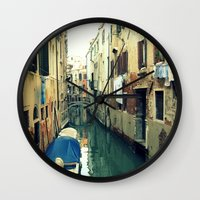 venice Wall Clocks featuring Venice by Mr and Mrs Quirynen