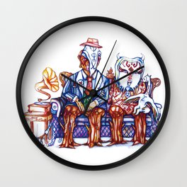 Family Affair  Wall Clock