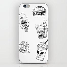 Monster Food iPhone Skin