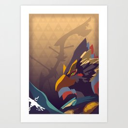 Rito Archer - Legend of Zelda Art Print