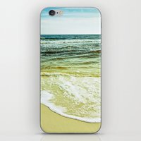 wave iPhone & iPod Skins featuring wave by Bonnie Jakobsen-Martin