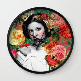 Blooming Leia Wall Clock
