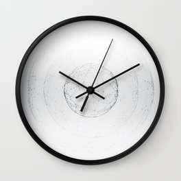 Minimal geometric circle II Wall Clock