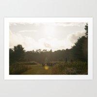 camp Art Prints featuring Camp by Isaac MacDonald