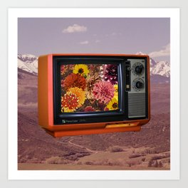 Color TV Art Print