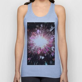 The universe is colored. Unisex Tank Top