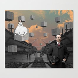 The Departure Canvas Print