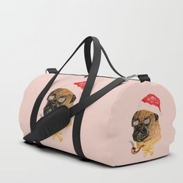 Christmas Dog Duffle Bag