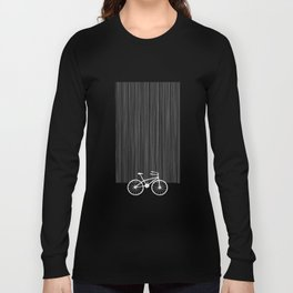 Blue Bike by Friztin Long Sleeve T-shirt