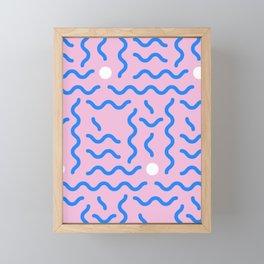 CRAZY RETRO 90s PRINT Framed Mini Art Print