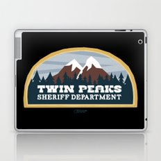 Twin Peaks Sheriff Department (Redux) Laptop & iPad Skin