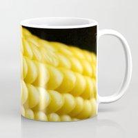indiana Mugs featuring Indiana Corn by Brian Raggatt