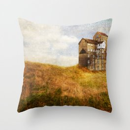 Old Cotton Mill Throw Pillow